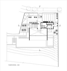 Casa B,Planta Pavimento N-0.90