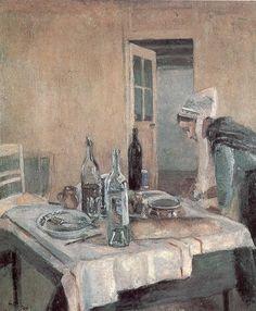 Henri Matisse, Serveuse bretonne (1896).
