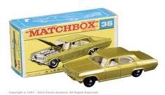 Matchbox Regular Wheels No.36c Opel Diplomat.