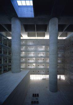 //photographer::Hisao Suzuki //project::Caja Granada Headquarters Bank in Granada, Spain //architect::Alberto Campo Baeza