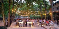The perfect terrace for lazing around Parfait, Lyon Restaurant, Lyon France, Tap Room, Terrace, Dolores Park, Photos, City, Envole