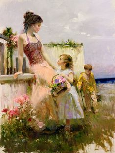 "You can be sure that the ""artists paintings of 5 Spirit of Love lady painter Pino Daeni"" in Museum-collection quality are 100% reproductions of the originals. Description from oilpaintingfactory.com. I searched for this on bing.com/images"