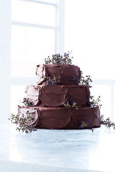 Remember that beast of a chocolate cake that Mrs Trunchbull made Bruce Bogtrotter eat in 'Matilda'? Well, it's got nothing on these beauts.    Some are sky-high, some are dripping in ganache and some