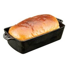 #7: Camp Chef Home Seasoned Cast Iron Bread Pan.