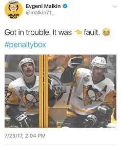They both seemed to be pissed at the other. Playoffs 2017