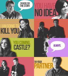 Castle Beckett ~ through the ages Castle Series, Castle Tv Shows, Castle Abc, Detective, Alexis Castle, Castle Quotes, Richard Castle, Castle Beckett, Stana Katic