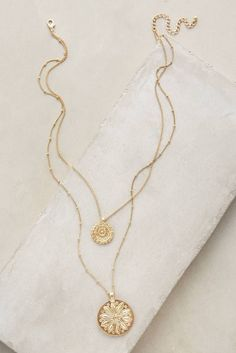 Anthropologie- I could really use some versatile necklaces- everyday items that will work with pretty much anything
