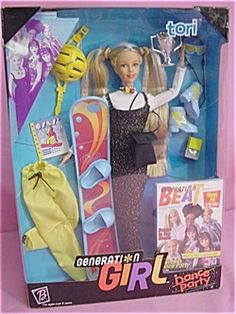 Generation Girl Barbie - I had this one :)