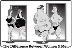 The difference between Women & Men.