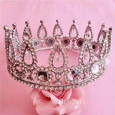 Bridal jewelry luxury stage crown European super beauty queen tiaras arena pageant crown wedding accessories