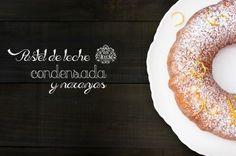 Pastel de leche condensada, no muy dulce, de miga muy compacta y de un suave y delicioso sabor y aroma a naranja.