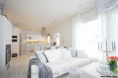 Living Room & Kitchen - Home White Home