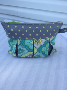 Pleated Bag, Vinyl Waterproof lining Cosmetic Bag, Clutch, Diaper Pouch, Baby Wipe Pouch by DonnaMaeDesigns on Etsy https://www.etsy.com/listing/236388897/pleated-bag-vinyl-waterproof-lining