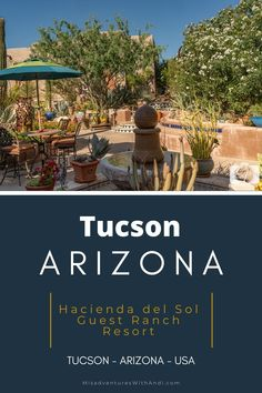 Hacienda del Sol Tucson guest ranch resort is an amazing luxury hotel property that is perfect for a romantic Tucson weekend getaway. Tucson hotels. Where to stay in Tucson. Where to eat in Tucson. #visittucson #tucson #arizona #luxurytravel