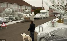 Bubble Wrap Street - for car insurance on Britain's most accident prone street...