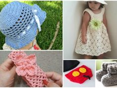 5 Crochet Ideas for Babies and Toddlers Free Patterns