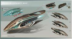 spaceship concept art - Buscar con Google