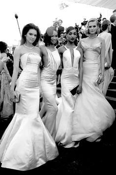 Having a Ball - Kendall Jenner, Chanel Iman, Jourdan Dunn, and Toni Garrn