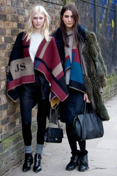 Street style London fashion week F/W 2014 #lfw