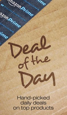 New deals. Every day. Shop our Deal of the Day, Lightning Deals and more daily deals and limited-time sales. Saving Tips, Saving Money, Best Amazon Deals, Lightning Deals, Deal Today, Last Minute Gifts, Ways To Save, Shopping Hacks, Daily Deals