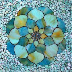 Kasia Mosaics - Stained Glass Mosaic Art, Process and Education by Kasia Polkowska ~ Alamosa, Colorado Mosaic Crafts, Mosaic Projects, Stained Glass Projects, Stained Glass Patterns, Mosaic Patterns, Stained Glass Art, Blue Mosaic, Mosaic Art, Mosaic Glass