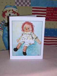 Raggedy Ann Card