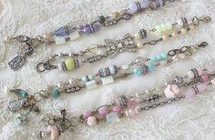 Bracelets by Andrea Singarella Jewelry Crafts, Jewelry Art, Antique Jewelry, Beaded Jewelry, Jewelry Bracelets, Vintage Jewelry, Handmade Jewelry, Jewelry Design, Fashion Jewelry