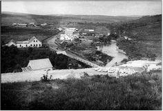 Foto da cidade de Jaguariaiva, Pr.: Cidade Baixa ano 1910!