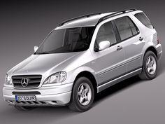 3D Model Mercedes Benz 1997 2005 - 3D Model