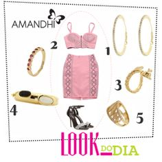 Look do Dia - Dourado é o tom mais quente | Amandhí | www.amandhi.com