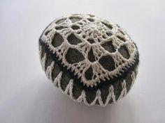 Hæklet sten