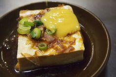 『おでんのダシで煮込んだ抜群の柔らかさの絶品瀬戸内焼き豆腐』が自慢