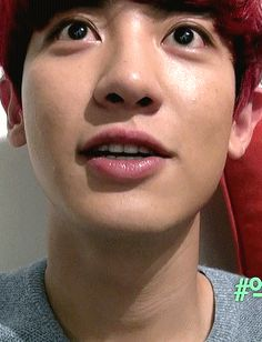 This gif kinda freaks me out, because it seems like Chanyeol is actually right there, talking to me