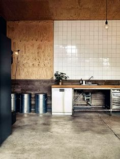 Lotta and Henry Imberg, the husband/wife team behind Imberg Arkitekter, turned a garage for tanks and military vehicles into a summer home overlooking the sea on Furillen, an island off the northeast coast of Gotland. With open sea breezes, ceiling fans need not apply.