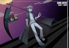 Stein, Spirit, weapon form, young, childhood; Soul Eater