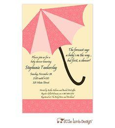 red umbrella invite