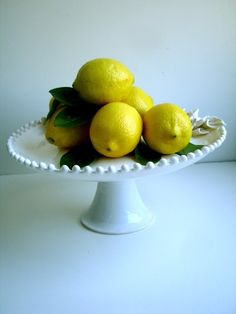 Etsy Finds: Handmade and Vintage Cake Stands For Your Next Soiree