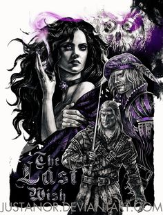 The Last Wish - Witcher Art Print by Tatiana Anor - X-Small Yennefer Witcher, Witcher 3 Art, The Witcher Game, Yennefer Of Vengerberg, The Witcher Book Series, The Witcher Books, Witcher Wallpaper, The Last Wish, Illustration Art Drawing