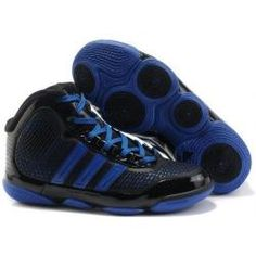 best website 19ebd c737f Adidas TS adiPure mens basketball black and blue shoes   3K-Store D Rose  Shoes