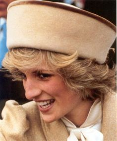 February 19, 1985: Princess Diana visiting Derby College of Further Education, East Midlands.