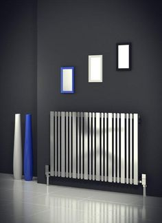 Grab a Reina Versa Stainless Steel Horizontal Designer Radiator in Satin and recieve top Customer Care and Free UK Delivery as standard Contemporary Radiators, Modern Contemporary, Modern Radiators, Stainless Steel Radiators, Brushed Stainless Steel, Horizontal Designer Radiators, Home Interior Design, Home Appliances, Room