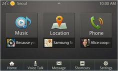 Samsung Mobile Car Application