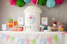 DIY Snow Cone PARTY PACK by LaurenHaddoxDesign on Etsy, $35.00