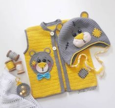 Modern Baby Vest Models – Knitting And We Crochet For Boys, Cute Crochet, Easy Hobbies, Crochet Baby Jacket, Baby Pullover, Baby Sweaters, Baby Knitting Patterns, Kind Mode, Crochet Clothes