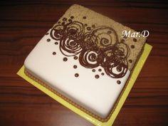 DORTY OD MARTINY - Fotoalbum - Dorty - Narozeninové dorty - --Ořechovo-čokoládový dort