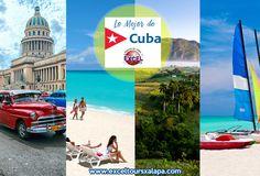 En Excel Tours Xalapa somos especialistas en CUBA y el Caribe, acércate a los expertos y disfruta de las mejores vacaciones de tu vida. Conoce nuestros circuitos a CUBA!