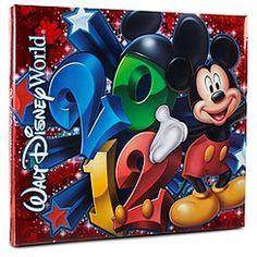 2012 Walt Disney World Resort Scrapbook Album