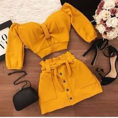 Tag your friends and see if they like it too 😊All rights reserved to thier respective owners # Best Casual Outfits, Teen Fashion Outfits, Mode Outfits, Skirt Outfits, Sexy Outfits, Stylish Outfits, Summer Outfits, Fashion Dresses, Mode Ulzzang