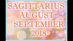 SAGITTARIUS LOVE AUGUST + SEPTEMBER LOVE TAROT READING 2018! Tarot Horoscope, Love Tarot Reading, Sagittarius Love, Horoscopes, September, Neon Signs, Youtube, Horoscope, Youtubers