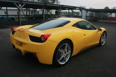 Outrageously beautiful Ferrari 458.